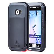Varten Samsung Galaxy kotelo Vesi / Dirt / Shock Proof Etui Kokonaan peittävä Etui Panssari Metalli Samsung S6