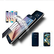 0.3MM High Definition Tempered Glass Screen Protector Front and Rear For Samsung Galaxy S6 edge (Front and rear)(2 PCS)
