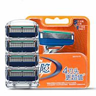 Gillette Fusion manuaalinen miesten partakoneen terä täyttöjä 4 count