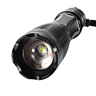 xm-l t6 2000lumens wysokiej mocy zoomable latarka LED Flashlight