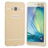 Mert Samsung Galaxy tok tokok Galvanizálás Hátlap Case Egyszínű Kemény Akril mert SamsungA5 (2017) A3 (2017) A7 (2017) A7(2016) A5(2016)