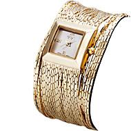 ASJ Damen Modeuhr Armbanduhr Armband-Uhr Japanisch Quartz Wasserdicht Rose Gold überzogen Band Vintage Bequem Silber Gold Rotgold