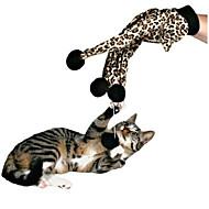 Juguete para Gato Juguetes para Mascotas Interactivo Rompe Cabezas Elástico Leopardo