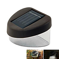 HRY® 2LEDS IP67 White Color Light Solar Fence Lamp Solar Lights