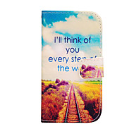 Railway Patterns Leather Full Body Case for Samsung Galaxy S3 I9300