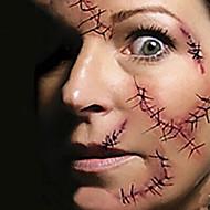 1 Tatoeagestickers Overige Non Toxic Halloween Onderrrug WaterproofKind Dames Heren Volwassene Tiener Flash Tattoo tijdelijke Tattoos