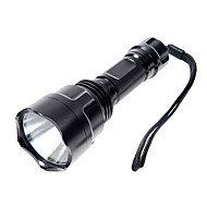 5-Mode CREE XPE LED Flashlight (1000LM, 1x18650, Black)