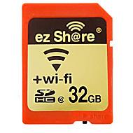 Ez Compartir 32GB Clase 10 SD/SDHC/SDXC / Almacenamiento WirelessMax Read Speed30mb/s (MB/S)Max Write Speed10mb/s (MB/S)