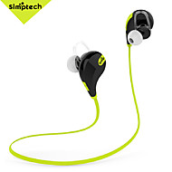 Simptech QY7 Wireless Bluetooth 4.1 Stereo Earphone Fashion Sport Running Headphone Studio Music Headset with Microphone