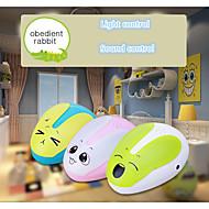 yndig lille lysstyring kanin nat lys til rum dekoration og lys ansøgning