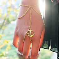 Brățări Ring Bracelets Aliaj Ancoră Zilnic Bijuterii Cadou Auriu,1 buc