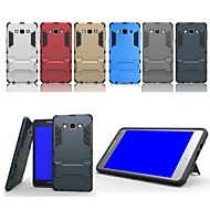 Super Protection TPU+PC 2in1 Combo Bracket Shell Protective Sleeve for Samsung Galaxy A7 (Assorted Color)