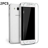2db egyértelmű ultra-vékony edzett üveg képernyővédő fólia Samsung Galaxy S5 i9600