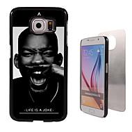 Για Samsung Galaxy Θήκη Με σχέδια tok Πίσω Κάλυμμα tok Ασπρόμαυρο PC Samsung S6