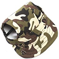Cat / Dog Bandanas & Hats Multicolor Dog Clothes Summer / Spring/Fall Camouflage Sports