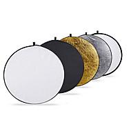 Passung 80cm 32-Zoll-5-in-1 zusammenklappbaren Mehrscheibenlichtreflektor