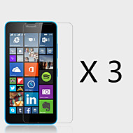 (3 Pcs)High Definition Screen Protector for Microsoft Lumia 640
