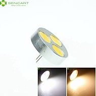 G4 GU4 GZ4 MR11 6W 3xCOB LED 650LM  White / Cold White / Warm White LED Spot Lights Light Bulb DC12V