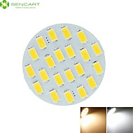 G4 GU4 GZ4 MR11 8W 21 x 5730SMD Led 750LM 3500-6500K White / Cold White / Warm White LED Spot Lights Light Bulb DC12V