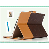 SpeciAlly DesiGned Bump Color PU Leather Auto Sleep For iPad Air Thin Shell+ Free Screensaver + Touch Screen Pen