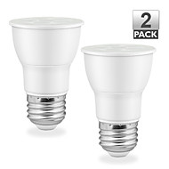 2PCS Vanlite E26 7.5W 500lm Dimmable LED Spot Bulbs SMD PAR16 Light 75Watt Equivalent AC120V