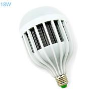 חלק 1 MORSEN® E26/E27 18 W 36 SMD 5730 1440-1620 LM לבן חם/לבן קר B נורות גלוב AC 85-265 V