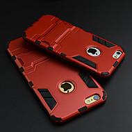 Iron Man ultratunna äpple hårda fallet skyddskåpa med stativ för iphone 6s plus / iphone 6 plus (blandade färger)