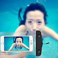 Swimming Phone Pouch 20M Waterproof Phone Bag with Lanyard for iPhone 6/6Plus/5/5S/5C and Others (Assorted Colors)