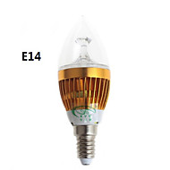 zweihnder e14 / e27 5w 450lm 15x2835 SMD LED de luz blanca cálida blanco bombilla vela (ac 220-240v)
