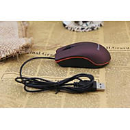 The Mouse Lenovo M20 Frosted Cute Mouse Notebook USB Optical Wired Mouse