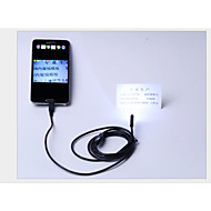 android endoskop USB 7mm android endoskop 6 LED IP66 vanntett kamera USB endoskopet 2m android OTG CCTV kamera