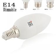 Lampandine a candela 9 SMD 5730 LeXing Lighting E14 / B22 / E26/E27 4 W Decorativo 150-180LM LM Bianco caldo / Luce fredda / Bianco1
