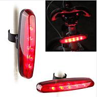 Eclairage de Velo , Eclairage ARRIERE de Vélo / Eclairage de bicyclette/Eclairage vélo - 7 Mode # Lumens Etanche AAA / Pile bouton