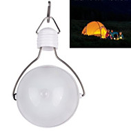 Solar LED Power Saving Bulb Camping Lantern Waterproof Light Indoor Outdoor White