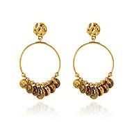 Druppel oorbellen Kristal Modieus Europees Parel Imitatieparel Strass 18K goud imitatie Diamond Oostenrijk Crystal Legering Goud Zilver