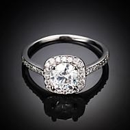 Duże pierścionki Stop Modny Silver Golden Biżuteria Ślub Impreza Codzienny Casual 1szt
