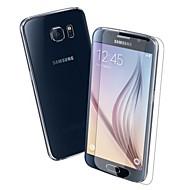 särkymätön& anti-scratch karkaistu lasi näytön suojelija edessä ja takana Samsung Galaxy S6 (edessä ja takana)