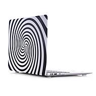 concha plana materiales pc palo de agua del estilo de vórtice para el macbook