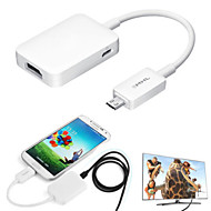 1080P MHL USB to HDMI HDTV Smart TV Adapter for Samsung Galaxy S4/S5/S6/Note 2 3