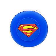 Disney superman cabo de carregamento para iphone 5s / 5g / 6/6 + com suporte de cabo de superman e bolsa