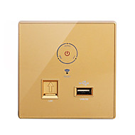 Wireless Wifi Router Wall Mounted Touch Design  Relay Mode+USB+ 3G AP Wireless Repeater Wireless Networking WiFi Finder