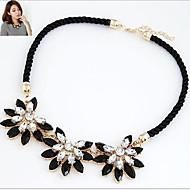 Γυναικεία Κολιέ Τσόκερ Κολιέ Δήλωση Vintage Κολιέ Flower Shape Ηλιοτρόπιο Κράμα Μοντέρνα Κοσμήματα με στυλ κοστούμι κοστουμιών Κοσμήματα