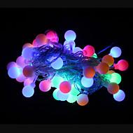 50 geleide 9m waterdichte outdoor kerst vakantie decoratie rgb licht LED snaar licht (AC220V)
