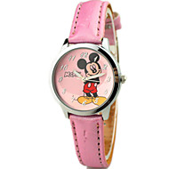 Children's PU Band Cute Cartoon Analog Wrist Watch Cool Watches Unique Watches