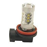 carking ™ H8 / H11 80w 16smd 2800ml 6000K wit licht geleid mistlamp hoofdlamp rijden lamp (DC 12V)