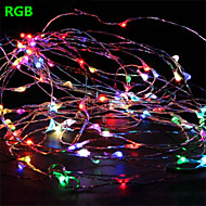 Dc12v 16.5FT 50 Leds Fairy String Lights Christmas Wedding Party Xmas Decoration RGB