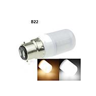 e14 / G9 / gu10 / b22 / e2627 7w 40x5630smd 1600lm blanco cálido / blanco frío globo decorativo bombillas AC220-240V