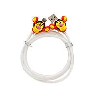 Disney Tiger  Charging Cable For Iphone 5G/5S/5C/6/6PLUS Ipad Air 2 Ipad Mini