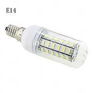 E14 / G9 / B22 / E26/E27 10 W 48 SMD 5730 1000 LM Warm White / Cool White T Corn Bulbs AC 220-240 V