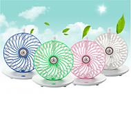usb 5v kaffekopp stil desktop to-modus hengende sterk vind fan - hvit + grønn
